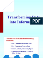 Data Into Information