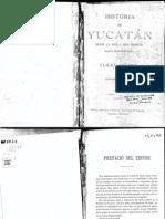 Historia de Yucatán - Eligio Ancona