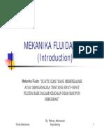 Mekanika Fluida (Mf Introduction Pp)