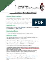 Torneio de Futsal (AJF - CPF) - Regulamento 2009