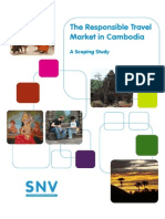The Responsible Travel Market in Cambodia