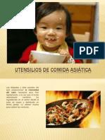 Utensilios de Cocina China