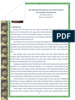 Tgk. Muhammad Daud Beure-Eh; Revolusioner Dan Mujaddid Tanah Rencong Final Publish