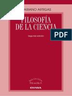 Artigas, Mariano - Filosofía de la ciencia (2a. ed.)