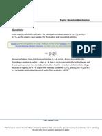 ClassOf1 Physics Quantum Mechanics Reflection Coefficient 6