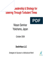 Ldrshp Strgy for Steering Thru Turbulent Times