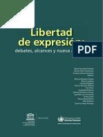 Libertad de Expresion Unesco