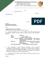 Surat Lawatan Ke Kuala Lumpur 2013