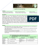 Material Data Sheet Nc 259 Sn100c Solder Paste Rev 1