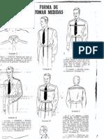 Manual de Sastreria Masculina Forma de Tomar Medidas