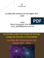 Idea Universo Siglos Xvi