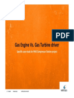 Gas Enginee vs Gas Turbine