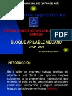 2. Bloques de Albañileria Armada - Mecano
