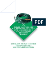 7. Cables eléctricos de alta seguridad