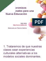12 Compromisos Profesionales para una Nueva Educación