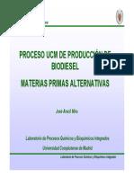 Mesa II - José Aracil biodiesel