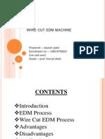 Wire Cut Edm Machine