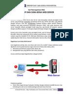 Prinsip Dan Cara Kerja Web Server