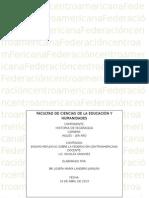 Ensayo Federacion Centroamericana