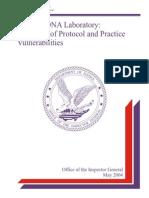Protocollo Dna FBI 1