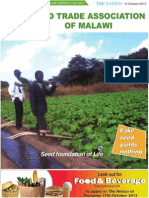 Seed Trade Association of Malawi Supplement