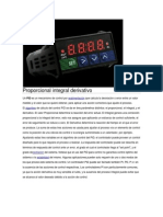 Proporcional Integral Derivativo(PID)