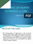 Application of Ipra. n. Cotabato vs Grp