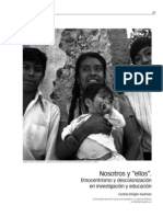 Etnocentrismo y descolonización en investigacion