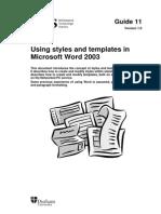 11 Styles 2003