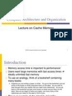 4.Cache Memory