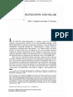 Esposito Democratization & Islam