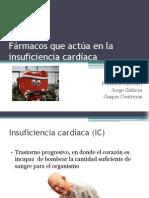 Fármacos que actúa en la insuficiencia cardíaca