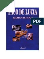 Paco de Lucia - Guitar Tab
