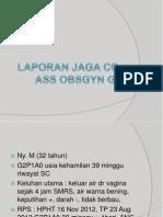 Laporan Jaga Co-Ass