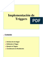 Triggers Spanish
