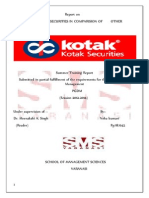 Working of Kotak Securities in Comparision of Other Broking Agencies. - Copy - Copy