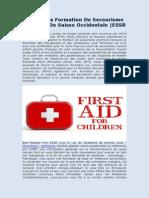 Meilleure formation en secourisme Défibrillateur Activité Busniess Child | ESSR