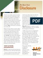 Multiple Sclerosis 12.3.9 Brochure Disclosure