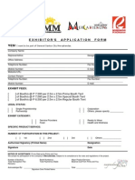 Exhibitors Application Form Mercatiendas 030812