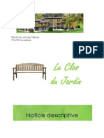 Descriptif - Le Clos Du Jardin - Oct 2013