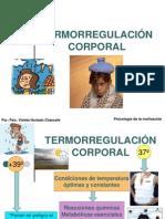TERMORREGULACIÓN CORPORAL