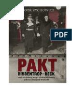 Piotr Zychowicz - Pakt Ribbentrop - Beck