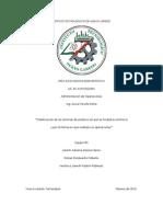 Clasificacion de Los Sistemas de Produccion Por Actividad Economica