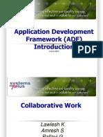 Application Development Framework Adf