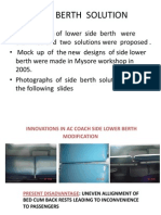 Solutions  to Side Berth  of AC  Coach  Problem  Berth Solution