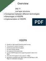 High Speed Downlink Packet HSDPA