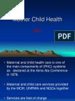 Mother Child Health