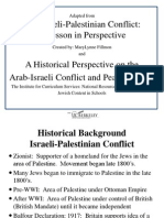 zachary hanson arab i conflict essay rewrite   i palestinian conflict historical background