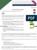 Indexación Semántica Latente
