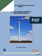 Estudio de Impacto Ambiental - Samaca